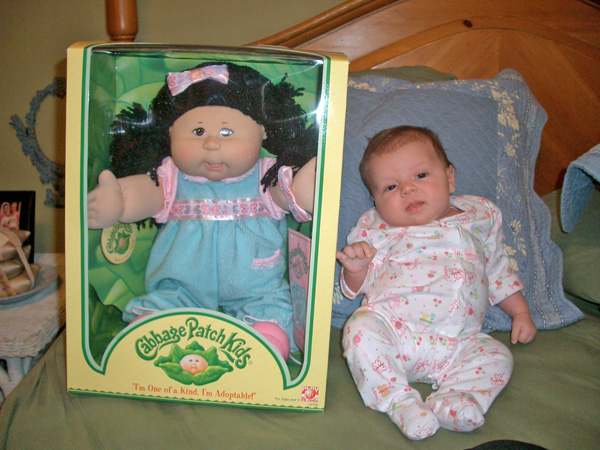 Brittain - the official Cabbage Patch Doll