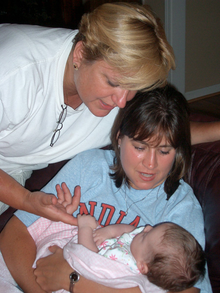 Kristin and Susan